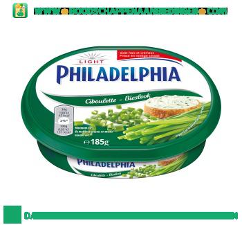 Philadelphia Bieslook light aanbieding