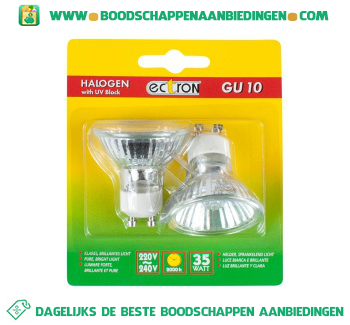 Philips Halogeen lamp gu10 35 watt aanbieding