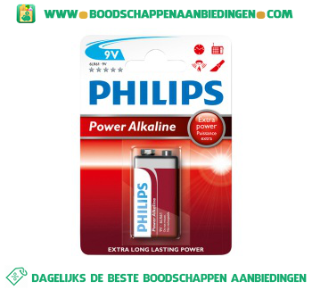 Philips Powerlife 9 volt aanbieding