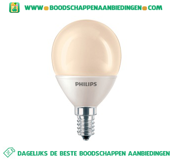 Philips Softone kogel 8w e14 aanbieding