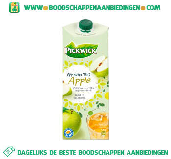 Pickwick Ice tea appel aanbieding