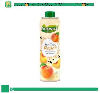 Pickwick Ice tea siroop peach aanbieding