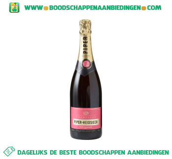 Piper Heidsieck Champagne rosé aanbieding
