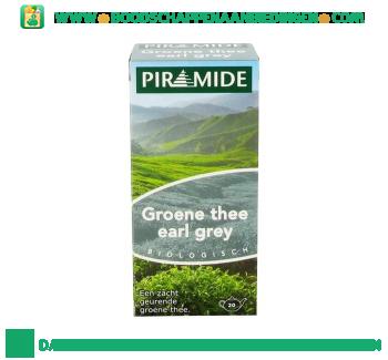 Piramide Groene thee earl grey aanbieding
