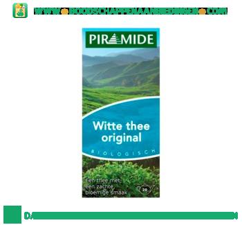 Piramide Witte thee original aanbieding