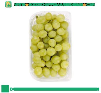 Pitloze witte druiven aanbieding