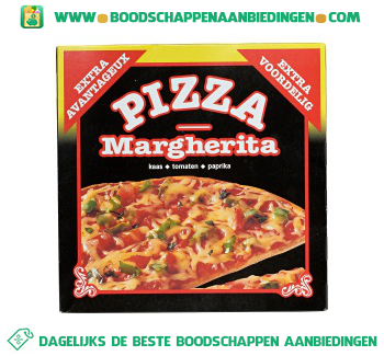 Pizza Margherita aanbieding