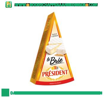 Président Brie aanbieding