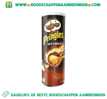 Pringles Hot & spicy aanbieding
