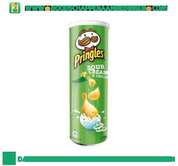 Pringles Sour cream & onion aanbieding