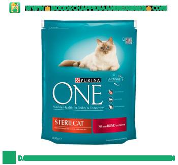 Purina One sterilcat aanbieding