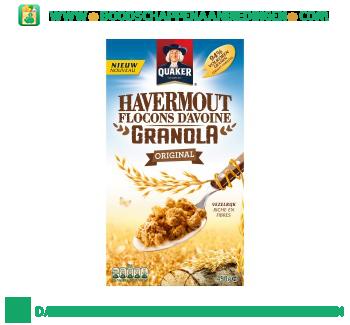 Quaker Havermout granola original aanbieding