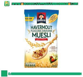 Quaker Havermout muesli multifruit aanbieding