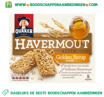 Havermoutrepen golden syrup aanbieding