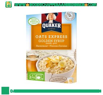 Quaker Oats express havermout golden syrup aanbieding