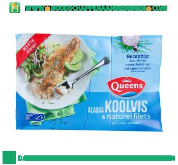 Queens Koolvis alaska aanbieding