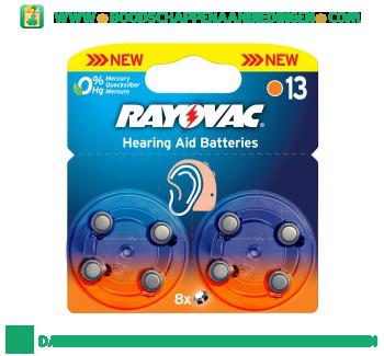Rayovac Batterijen V13 aanbieding