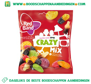 Red Band Crazymix aanbieding