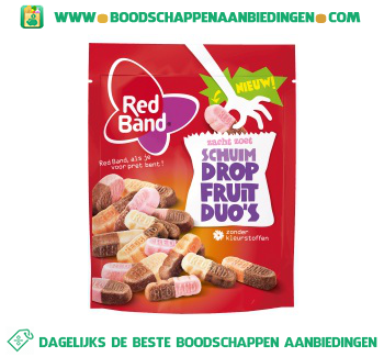 Red Band Dropfruit duo schuim aanbieding
