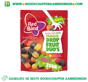 Red Band Magic dropfruit duo zoet zuur aanbieding