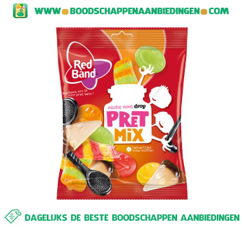 Red Band Pretmix aanbieding