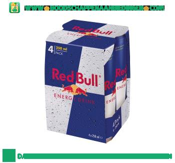 Red Bull Energy drink 4-pak aanbieding