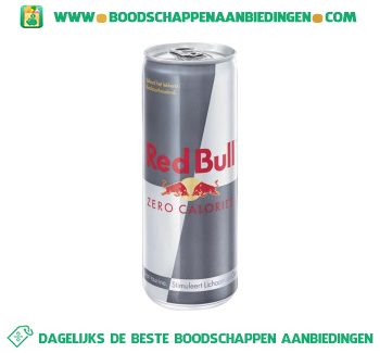 Red Bull Zero aanbieding