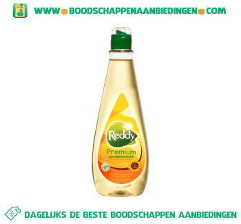 Reddy Premium zonnebloemolie aanbieding