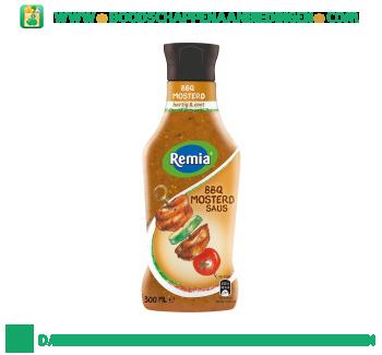 Remia BBQ mosterd saus aanbieding