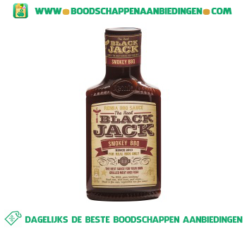 Remia Black jack smokey bbq saus aanbieding