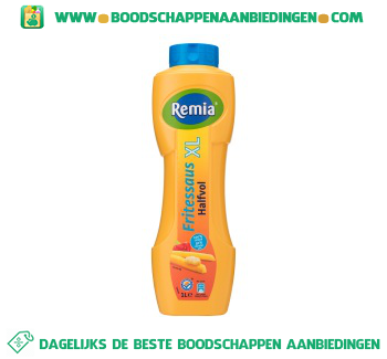 Remia Fritessaus halfvol XL aanbieding