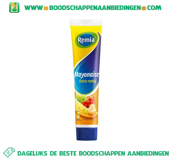 Remia Mayonaise extra romig aanbieding