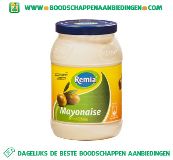 Remia Mayonaise olijfolie aanbieding
