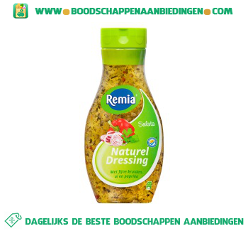 Remia Salata naturel dressing aanbieding