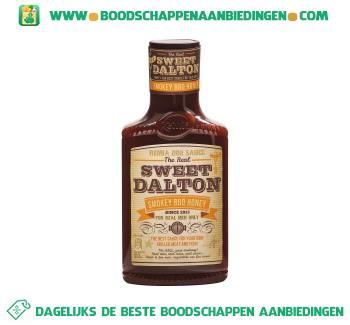 Remia Sweet dalton smokey honey bbq saus aanbieding