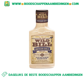 Remia Wild bill american garlic saus aanbieding