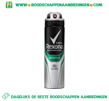 Rexona Deospray sensitive aanbieding