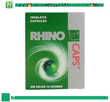 Rhinocaps Inhalatie capsules bij verkoudheid aanbieding