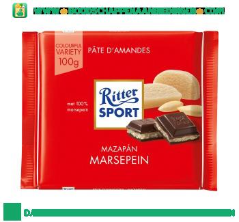 Ritter Sport Chocoladereep marsepein aanbieding