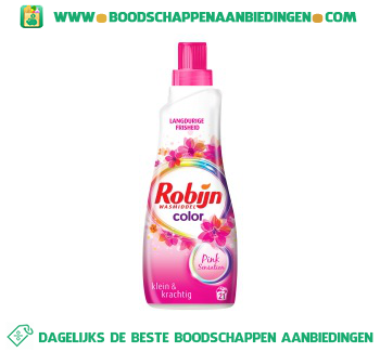 Wasmiddel Klein & Krachtig Pink Sensation Color aanbieding