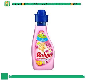 Robijn Wasverzachter vloeibaar summer pink aanbieding