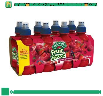 Fruitshoot aardbei pak 8 flesjes aanbieding