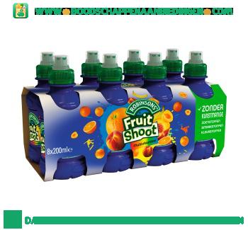 Robinsons Fruitshoot multivit pak 8 flesjes aanbieding