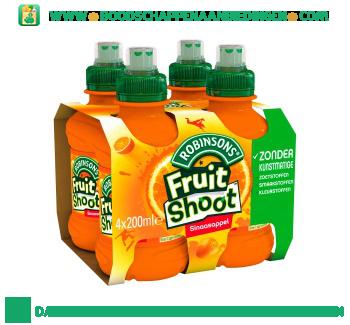 Robinsons Fruitshoot sinaasappel 4-pak aanbieding