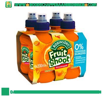 Robinsons Fruitshoot sinaasappel geen suiker toegevoegd 4-pak aanbieding