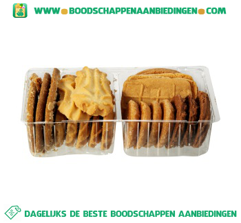 Roomboter koekjes aanbieding