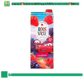 Fruitig drankje roodfruit aanbieding