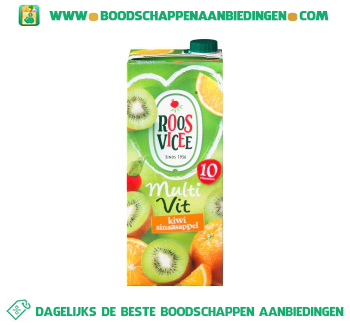 Roosvicee Multivit kiwi & sinaasappel aanbieding