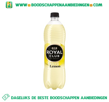 Royal Club Bitter lemon aanbieding