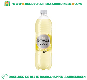 Royal Club Bitter lemon light aanbieding